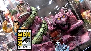 Mattel Masters of the Universe Classics and ThunderCats Product Walkthrough at SDCC 2015