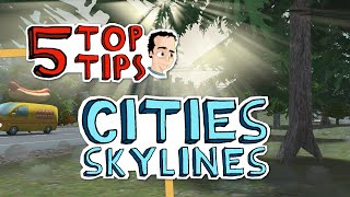 getlinkyoutube.com-How to analyze and fix traffic congestion - 5 Top Tips for Cities Skylines