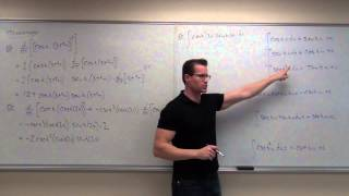 Calculus 2 Lecture 6.6:  A Discussion of Hyperbolic Functions