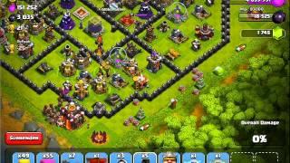 getlinkyoutube.com-Clash of Clans Mario Attack