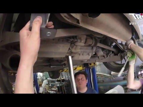 Установка защиты моторного отсека на Smart ForTwo