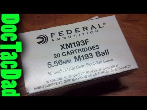 Hog's Head Ballistics - Federal M193 5.56x45 NATO
