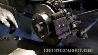 getlinkyoutube.com-How To Replace Rear Disc Brakes (Full) - EricTheCarGuy
