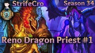getlinkyoutube.com-Hearthstone Reno Dragon Priest S34 #1: One For All