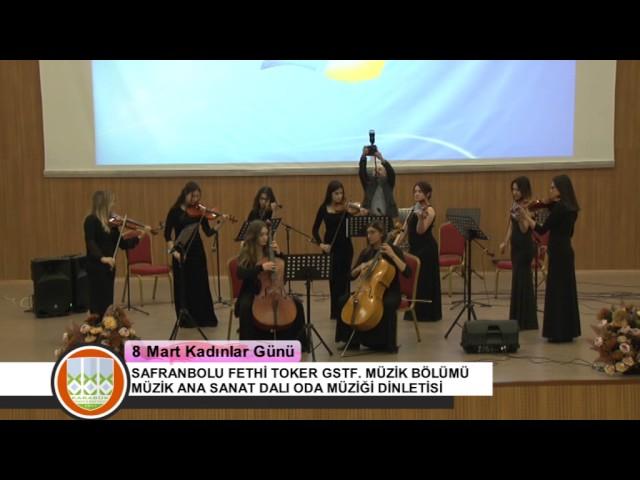 Karabük Üniversitesi Kadınlar Günü Oda Müziği