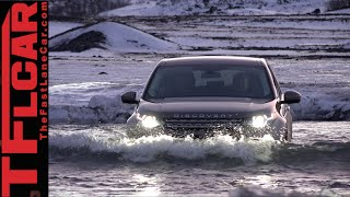 getlinkyoutube.com-2015 Land Rover Discovery Sport Snowy Icelandic Off-Road Review in TFL4K