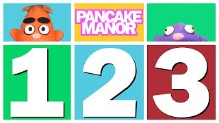 COUNT 123 SONG ♫ | Learning Numbers | Kids Songs | Pancake Manor