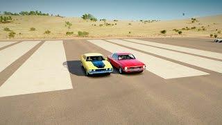 Ford XB Falcon GT vs Holden HQ Monaro GTS 350 - DRAG RACE | Forza Horizon 3