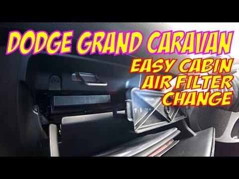 Dodge Grand Caravan Cabin Air Filter Change