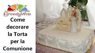 getlinkyoutube.com-Come decorare la torta per la Comunione di Greedy