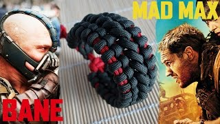 getlinkyoutube.com-Mad Max Bane's Cuff Paracord Bracelet Tutorial