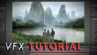 "getlinkyoutube.com-""Pulp-Adventure"" Matte Painting | VFX Tutorial"