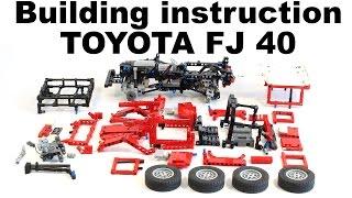 getlinkyoutube.com-Video instruction LEGO Toyota FJ 40