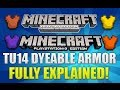 "Minecraft Xbox 360 & PS3: ""Title Update 14"" Dyeable Armor Fully Explained (TU14 ADDITION)"