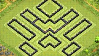 getlinkyoutube.com-Clash of Clans - Th9 Farming Base