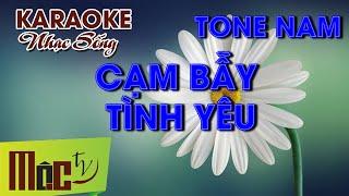 getlinkyoutube.com-Karaoke CẠM BÃY TÌNH YÊU Remix - Phan Đình Tùng - [NHẠC SỐNG ORGAN]