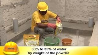 getlinkyoutube.com-WATER PROOFING OF CONCRETE