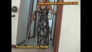 getlinkyoutube.com-Samantha provocative POLIO leg show