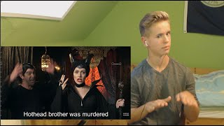 getlinkyoutube.com-MALEFICENT vs DAENERYS: Princess Rap Battle Reaction!