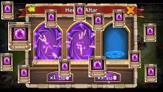 getlinkyoutube.com-Castle Clash:Kale Savaşı Legend Hero Kart