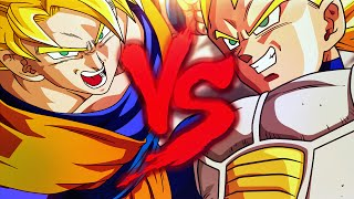 getlinkyoutube.com-Goku VS. Vegeta | Duelo de Titãs