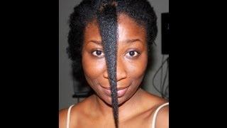 getlinkyoutube.com-33) 3yrs Natural Hair Journey: Type 4c hair
