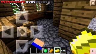 getlinkyoutube.com-Minecraft pe ตะลุยหมู่บ้านNPCตอนที่1