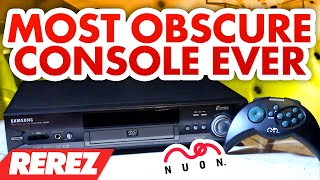 getlinkyoutube.com-The Most Obscure Console Ever: The Nuon - Rare Obscure or Retro - Rerez