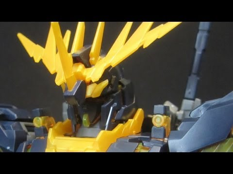MG Banshee (Part 1: Unbox) Unicorn Gundam 02 UC OVA gunpla model review