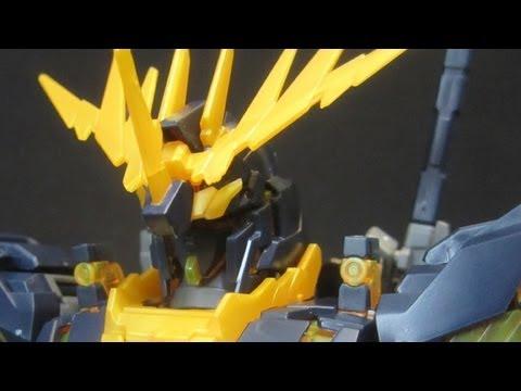 MG Banshee (Part 1: Unbox) Unicorn Gundam 02 UC OVA gunpla model review