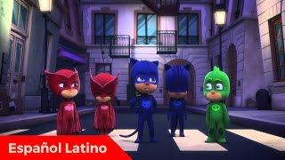 getlinkyoutube.com-Pj Masks heroes en pijamas en español latino episodio 13 catboy contra robogato