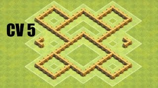 getlinkyoutube.com-CV 5 Layout Farm COC - CLASH OF CLANS