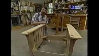 getlinkyoutube.com-Кресло Морриса своими руками (Morris Chair)