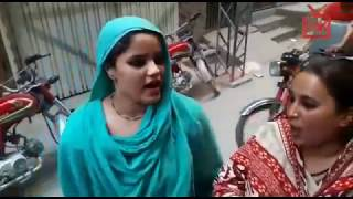 Beautiful voice Pakistani beggar girls singing a English song