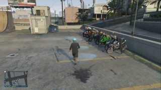 getlinkyoutube.com-GTA 5 Bike Meet Up And Drag Races! #1