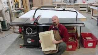 getlinkyoutube.com-A Raised Panel, Made Solely On the SawStop Table Saw