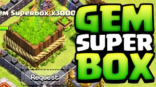 getlinkyoutube.com-Clash of Clans ♦ INTRODUCING: The MEGA Gem Box! ♦