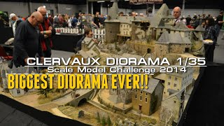 getlinkyoutube.com-Most Epic and Biggest Diorama Ever ! - Clervaux 1/35 scale By Claude Joachim.