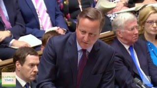 Britanski premijer David Cameron o anti-ahmadijskom nasilju u Britaniji
