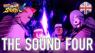 Naruto SUN Storm 4 - The Sound Four - DLC 3 Trailer