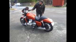 getlinkyoutube.com-Goldwing to Rodwing first testride after customizing and painting
