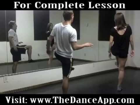 Kent Boyd Katee Shean teaching The Dance App Tutorial