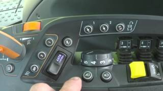 Valtra [N4 & T4 Versu] 05 Side panel controls part 09 Cruise, Autoguide and Engine speed cruise