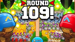 getlinkyoutube.com-Bloons TD Battles   ROUND 100+ TACTICS! LATE GAME STRATEGY!