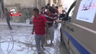 getlinkyoutube.com-حلب حي الشيخ خضر آثار الدمار جراء استهدف الحي بالبرميل المتفجرة 27 9 2014