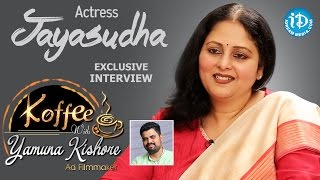 Actress Jayasudha Exclusive Interview || Koffee With Yamuna Kishore #9