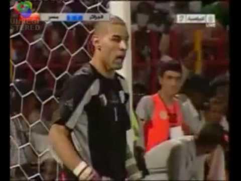 chaouchi  Algérie vs  Égyptiens coupe du monde 2010