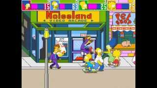 The Simpsons Arcade Game 4 player Netplay 60fps