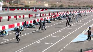 24 Hours Endurance Race start 2015