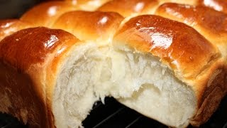 getlinkyoutube.com-How to make Bakery Style Super Soft Chewy Dinner Rolls | 微波面包
